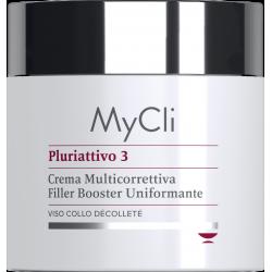 MyCli Reversign Pluriattivo 3 Crema Viso Multicorrettiva Filler Booster Uniformante 100ml