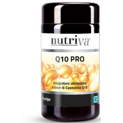 Nutriva Q10 Pro Integratore Antiossidante 30 Capsule