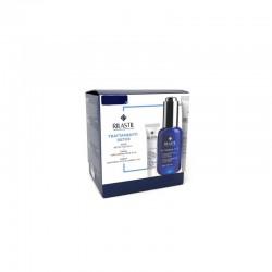 Rilastil Trattamento Viso Detox - Siero Multirepair H.A. 30ml + Crema Idroriparatrice 15ml + Contorno Occhi 3ml