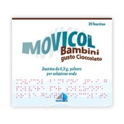 Movicol Bambini Bustine Gusto Cioccolato 6,9 grammi
