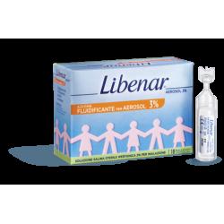 Libenar Aerosol 3% - 18 flaconcini di soluzione ipertonica per aerosolterapia