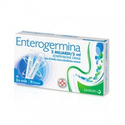 Enterogermina 2 Miliardi di Fermenti Lattici 10 Flaconcini da 5ml