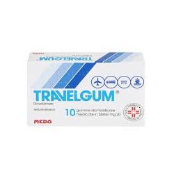 Travelgum 20 mg 10 gomme da masticare