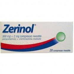 Zerinol 300 mg + 2 mg 20 compresse rivestite