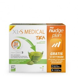 XLS Medical Tea 90 Stick - Integratore per la perdita di peso con the verde matcha