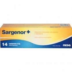 Sargenor Plus integratore alimentare con Vitamina C - 14 compresse effervescenti