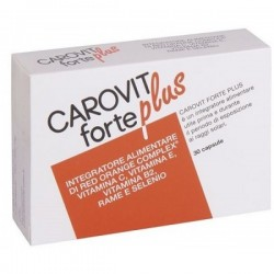 Carovit Forte Plus 30 Capsule - Integratore Antiossidante per la Pelle