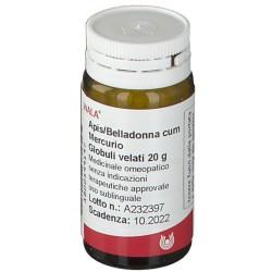 Apis Belladonna cum Mercurio 20 g globuli omeopatici antinfiammatori