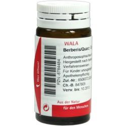 Berberis Quarz globuli 20 g farmaco omeopatico per le vie respiratorie