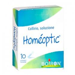 Homeoptic collirio omeopatico monodose per occhi irritati 10 flaconcini