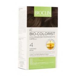 Bioclin Bio Colorist CASTANO tinta permanente per capelli con Argan
