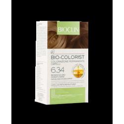 Bioclin Bio Colorist Biondo Scuro Dorato Rame tinta con Argan BIO