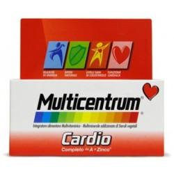 Multicentrum Cardio 60 compresse integratore per cuore e colesterolo