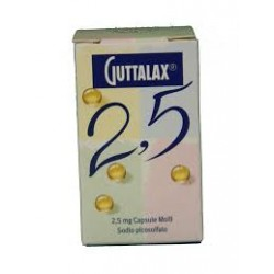 Guttalax 2,5 mg 20 capsule molli