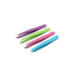 Bifor pinzetta di precisione per sopracciglia colori assortiti acciaio inox