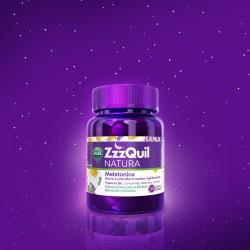 ZzzQuil Natura integratore per favorire il sonno con melatonina - 30 pastiglie gommose
