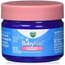 Vicks BabyRub unguento lenitivo e rilassante per bambini 50g