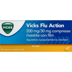 Vicks Flu Action 12 compresse 200+30 mg