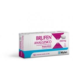 Brufen analgesico 200 mg 12 compresse rivestite