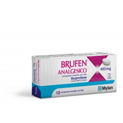 Brufen analgesico 400 mg 12 compresse rivestite