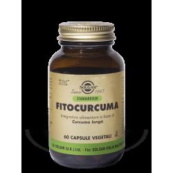 Solgar Fitocurcuma - Integratore antiossidante con curcuma 60 capsule vegetali