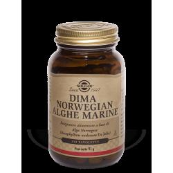 Solgar Dima Norwegian Alghe Marine - Integratore per tiroide e metabolismo 250 tavolette
