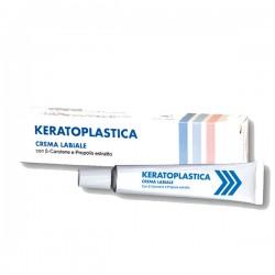 Keratoplastica crema labiale rigenerante per labbra secche screpolate 10 g
