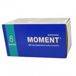 Moment sospensione orale 8 bustine 200 mg