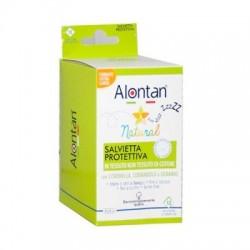 Alontan Natural 12 salviette antizanzare monouso