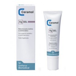 Ceramol AG Gel ristrutturante, lenitivo ed antimicrobico 30 ml