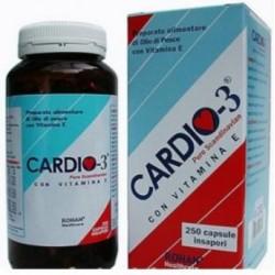 Cardio3 Liquido integratore antiossidante con omega-3 e vitamina E 100 ml