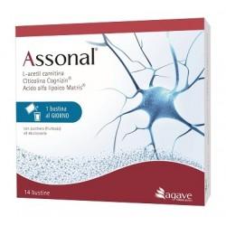Assonal integratore neuroprotettivo 14 bustine