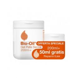 Bio Oil Gel Pelle Secca - Idratante Viso e Corpo Intensivo 200 ml + 50 ml OMAGGIO