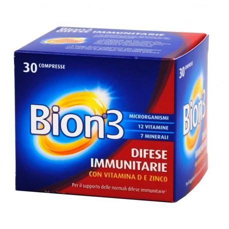 Bion 3 - Integratore per le difese immunitarie 30 compresse