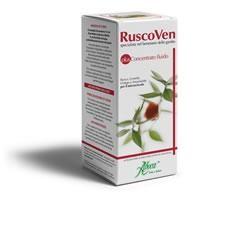 Aboca Ruscoven Plus Concentrato Fluido - Integratore per il benessere delle gambe 200 g