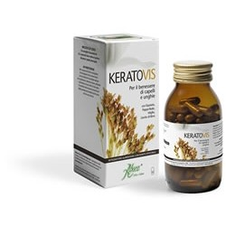 Aboca Keratovis - Integratore per capelli e unghie 100 opercoli