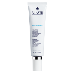 Rilastil Multirepair Gel Crema antirughe e riparatore per pelle normale e mista 40 ml