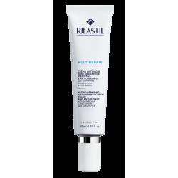 Rilastil Multirepair Crema viso antirughe idro riparatrice per pelle secca 40 ml