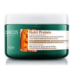 Vichy Dercos Nutrients maschera nutriente ristrutturante per capelli 250 ml