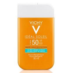 Vichy Ideal Soleil fluido ultraleggero protezione solare viso corpo SPF50+ 30 ml