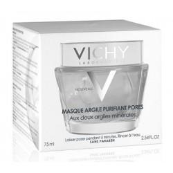 Vichy maschera viso all'argilla purificante sebonormalizzante 75 ml
