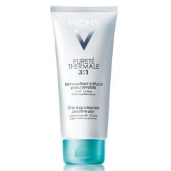 Vichy Pureté Thermale 3 in 1 detergente struccante pelle sensibile 300 ml