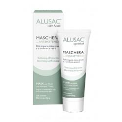 Alusac con Alusil maschera viso con antibatterico per pelle impura 75 ml
