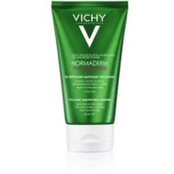 Vichy Normaderm Crema detergente opacizzante viso all'argilla per pelle mista e grassa 125 ml