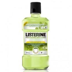 Listerine Protezione Anti Carie collutorio con oli essenziali e te verde 500 ml
