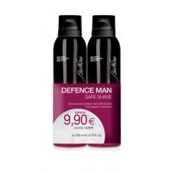 BioNike Defence Man Safe Shave Schiuma da barba anti-irritazioni 2 x 200 ml