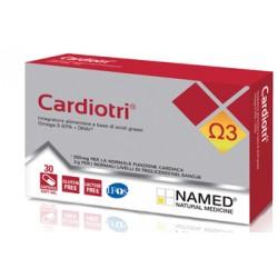 CardioTri integratore di Omega-3 per trigliceridi 30 capsule softgel
