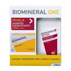 Biomineral One 30 compresse + Biothymus shampoo UOMO energizzante 150 ml OMAGGIO
