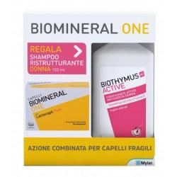 Biomineral One 30 compresse + Biothymus shampoo DONNA ristrutturante 150 ml OMAGGIO