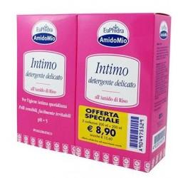 Euphidra AmidoMio Detergente intimo idratante delicato 200 + 200 ml